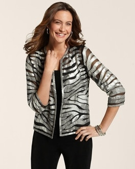 Travelers Collection Zebra Zoe Jacket