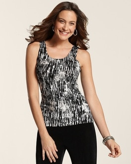 Travelers Classic Graphic Foil Contemporary Tank