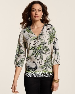 Botanical Leaves Nora Shirt