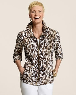 Zenergy Neema Ombre Animal Jacket