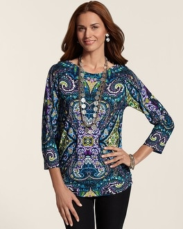 Artful Array Ruched Abigail Top