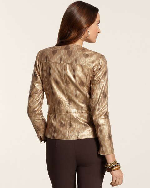 Brushstroke Shine Jacket