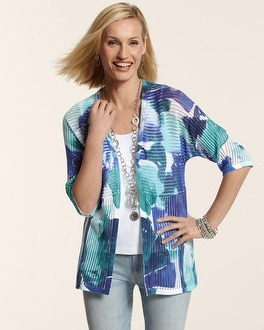 Watercolor Floral Christina Cardigan