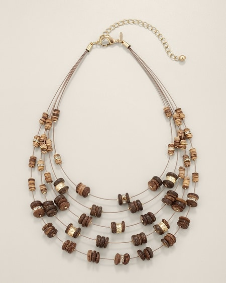 Samaria Multi-Strand Necklace
