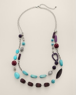 Sitia Multi-Strand Necklace