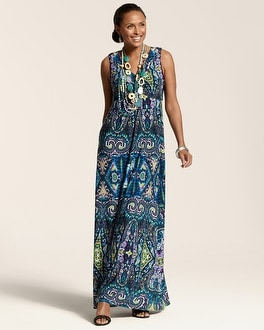 Gia Paisley Maxi Dress