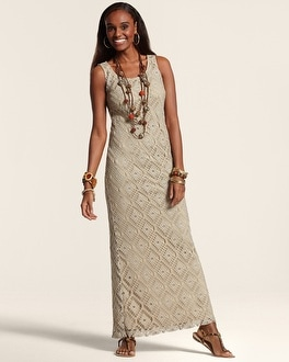 Cassandra Crochet Dress