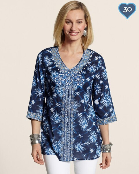 Marvelous Motif Maddie Top