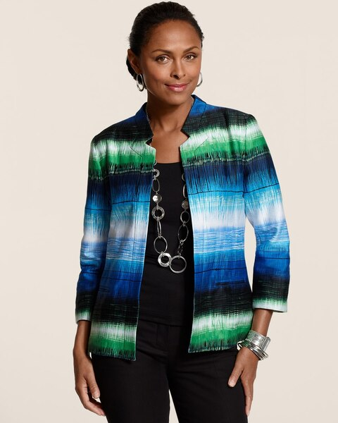 Brushed Ombre Jacket