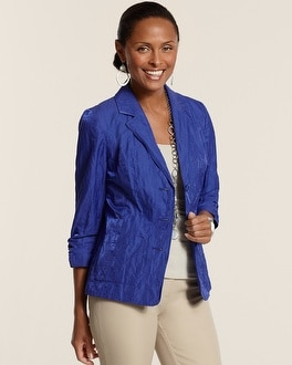 Kennedy II Crinkle Shine Jacket