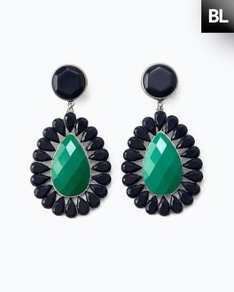 Black Label Midnight Chandelier Earring