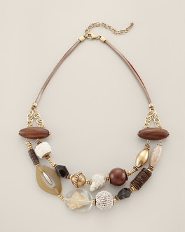 Sougia Multi-Strand Necklace