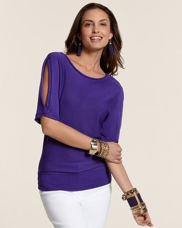 Nora Open Shoulder Pullover