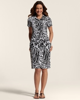 Zenergy Neema Animal Print Dress
