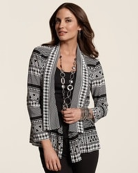 Scrunchy Tribal Jacket