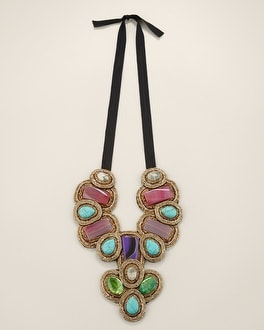 Venetia Bib Necklace