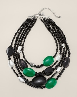Gema Multi-Strand Necklace