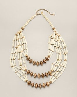 Guinevere Multi-Stand Necklace