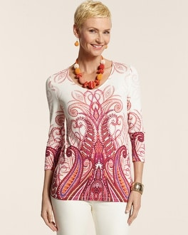 Paisley Scroll Tunic