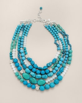 Palasa Multi-Strand Necklace