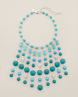 Palasa Statement Bib Necklace