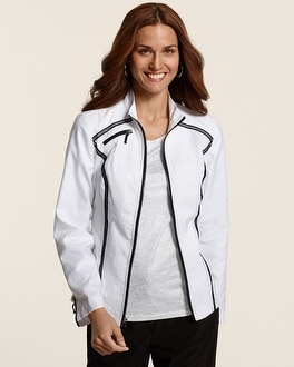 Zenergy Molly Mesh Detail Jacket