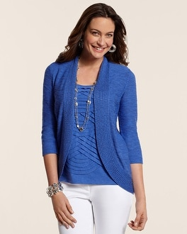 Savanna Slub Cardigan