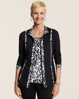 Zenergy Chico Tech Amira Animal Trim Jacket