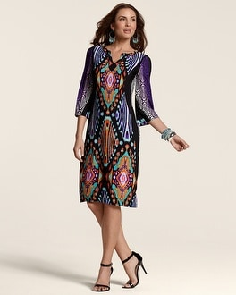 Kaylee Multi-Print Dress