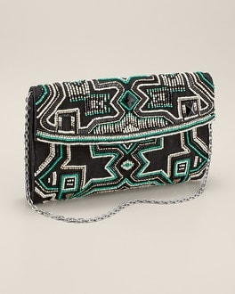 Beaded Beauty Clutch