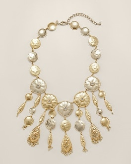 Neta Statement Bib Necklace