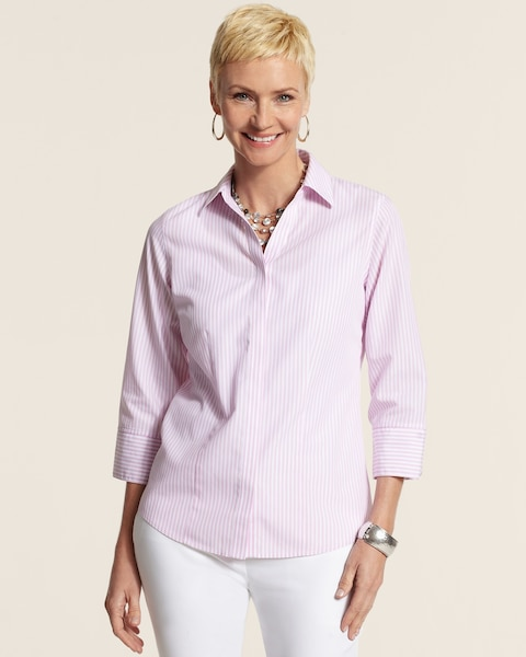 Effortless Glam Stripe Gabrille Shirt