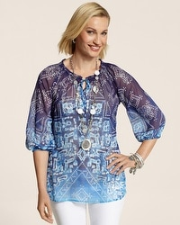 Sanibel Splendor Estie Top
