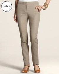 Petite So Slimming By Chico's Smooth Seamed Ankle Pant