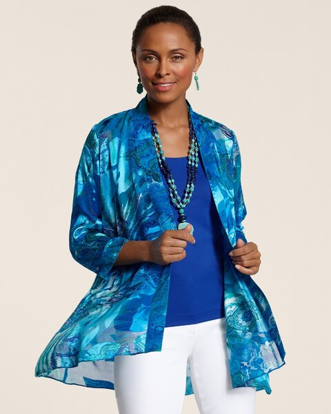 Sheer Aquatic Jacket
