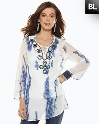 Black Label Tie-Dye Tunic