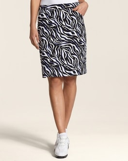 Zenergy Golf Zebra Print Skort