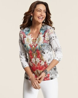 Tropical Mirror Jolie Top