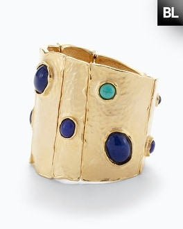 Black Label Stone Cuff