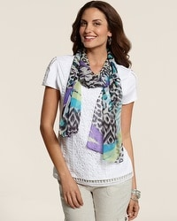 Zanzy Animal Scarf