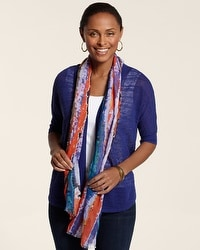 Barie Warm Multi Scarf