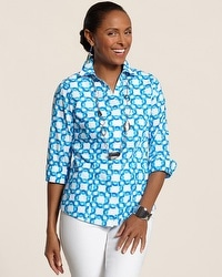 Effortless Geo Fun Gabrielle Top