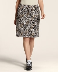 Zenergy Golf Animal Print Skort