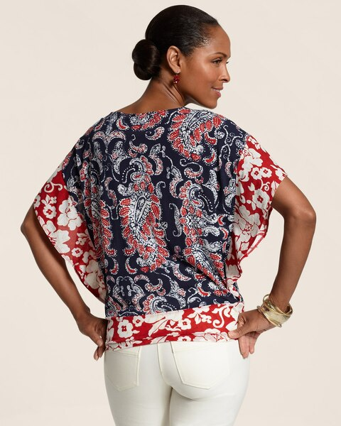 Positive Negative Batik June Top
