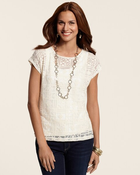 Lace Adrienne Top