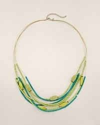 Kale Multi-Strand Necklace