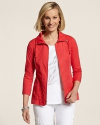 Zenergy Woven Collection Dusti Ripstop Jacket
