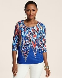 Geo Blends Patricia Top