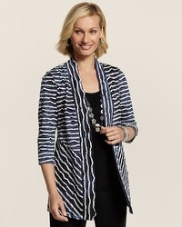 Travelers Collection Ruffle Tabitha Jacket