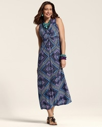 Maida Textured Maxi Dress